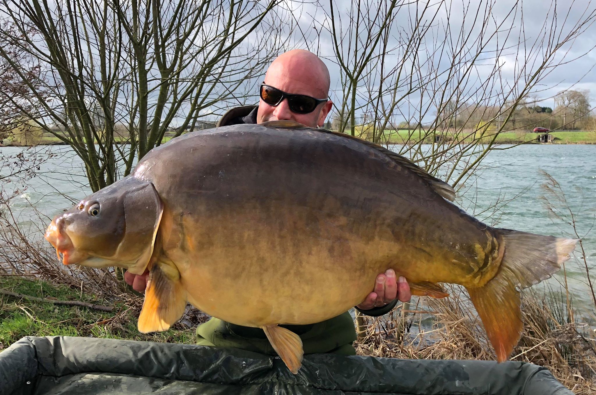 Baden Hall Fishery 50lb Mirror