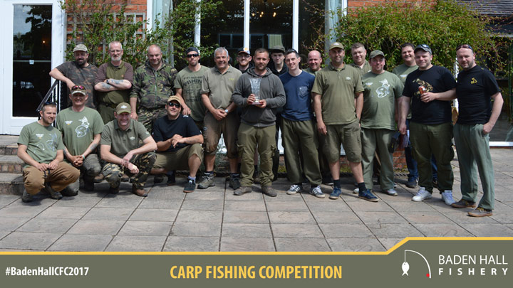 Carp competition group photo.