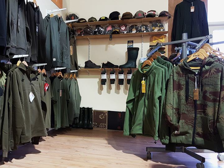 Carp fishing clothing