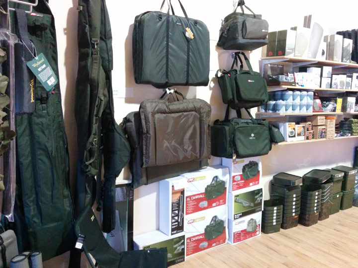 JRC carp fishing luggage