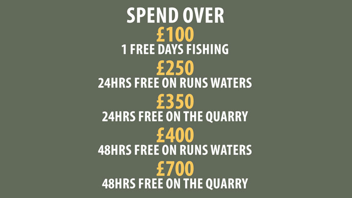 Baden Hall Fishery shop, online discounts.